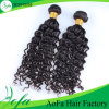 Double Wefts Unprocessed Deep Wave Human Hair Weaving