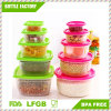 5 in 1 Plastic Preservation PP Easy to Wash and Dry Safe Healthy Can Be Used Formicrowave Box Food Container