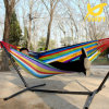2 Person Rainbow Pinstripe Outdoor Hammock