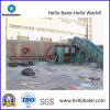 Semi-Auto Hydraulic Cardboard Baler with Conveyor
