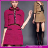 2014 Garment Factory OEM Wholesale Fashion Wool Winter Women Coat (CH-1340)