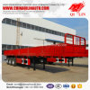 Good Quality Carbon Steel High Breast Board Semi Trailer