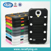 PC+Silicon Hybrid Combo Belt Clip Holster Heavy Duty Case with Stand for Samsung Galaxy S4