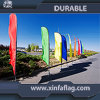 Promotional Custom Feather Flags Flying Beach Flags Display