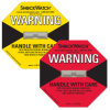 Worldwide Logistics Shipping Labels Shockwatch Companion Label