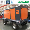 30 Bar 125 Cfm Double-Stage Mobile Portable Screw Air Compressor