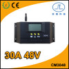 30A 48V LCD Display PWM Solar Charge Controller