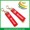 2017 Embroider Logo Felt Fabric Key Chain for Souvenir