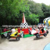 2014 New Amusement Bounce Cars Rides for Playground 4riders*6cars