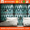 2017 New Modern Design Wall Paper Wholesale Decorative PVC 3D Wallpaper