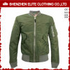 Olive Green High Quality Cheap Bomber Jacket Wholesale (ELTBJI-35)