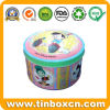 Metal Round Tin Box for Food Tin Can Packaging