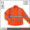 Mens safety Reflective Tape Softshell Jacket