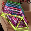 Popular Colorful Aluminum Alloy Adult Bike Frames (ly-a-180)