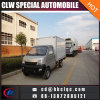 Factory Sales 1.5t Refrigerator Container Truck Meat Transport Van