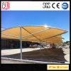 Sun Shade Steel Car Parking Tent, Metal Carports with Waterproof Sheet Roof