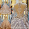 Blue Lace Ball Gown Colorful Wedding Prom Dress P201827