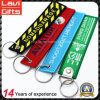 High Quality Embroidery Keychain with Keyring