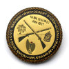 Custom Metal Civil War Souvenir Gold Collection Coin