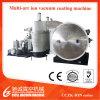 Cczk 3m 6m Stainless Steel Pipe Tin Gold Titanium Nitride Arc Ion Vacuum Coating Machine, PVD Coating Plant