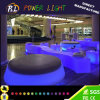 Lighted Plastic Bar Furniture LED Snake Stool