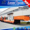Tri Axles Concave Beam Low Deck Semi Truck Trailer