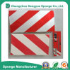 Red-White Garage EVA/NBR Protector Strip Foam