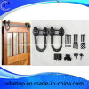 Stainless Steel U-Shaped Barn Door Sliding Hardware Kits