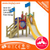 Kid Play Structure Ootdoor Palayground Wooden Slide