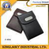 New Design Cowhide Name Card Box for Promotion (K-016)
