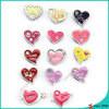 Hot Selling Heart Slider Charms for 8mm Jewelry (SC16040936)