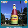 Hot-Sale Promotional Advertising Use Inflatable Replica Ketchup Product Bottle