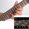 Stickers for Guitar Trainer, Guitar Fretboard Note Decals Fingerboard Frets Map Sticker for Beginner Learner