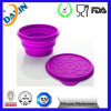 FDA&LFGB Approved Customized Folding Silicone Dog Bowl