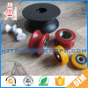 Variable Groove Angle V Type Nylon Conveyor Roller with Single Sealed Bearing