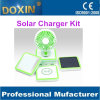 Multi Function Solar Charger LED Light Solar Fan 10000mAh Wireless Phone Charger for Note 5