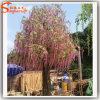 Decorative Fiberglass Artificial Silk Flower Tree