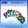 Cheap Polyester Hand Waving Held Flag, Promotional Hand Flags