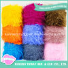Polyester Nylon Colorful Eyelash Feather Fancy Yarn for Scarves