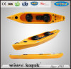 2+1 Seats Family Plastic LLDPE/HDPE Touring Recreation Kayak