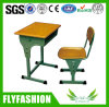 Molded Adjustbale School Classroom Desk with Chair Sf-41s