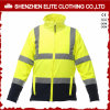 Winter Waterproof Fluorescent Yellow Orange Safety Reflective Jacket (ELTHJC-476)