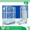 Customized Folding Cage Trolley for Warehouse with Ce