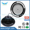 UL Dlc FCC Ce EMC LVD RoHS Indutrial Crater UFO LED High Bay Light IP67 Meanwell Driver 240W 200W 150W Dimmable UFO LED Lamp