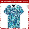 Custom Made Dye Sublimation Polo Collar Tshirt Design (ELTMPJ-195)