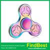 Fs008 UFO Flower Zinc Alloy Tri Fidget Spinner Hand Spinner for Gift