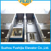 Good Quality Glass Sightseeing Panoramic Observation Elevator Without Machine Room