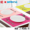 FDA LFGB Food Grade Soft Silicone Placemat for Children Dining Mats