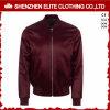 Fashion Burgundy Red Satin Bomber Jackets (ELTBJI-30)