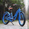 26′′ Fat Tyre Electric Bike 48V 500W for Woman